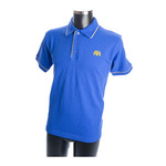 Contrast Trim Cotton Polo
