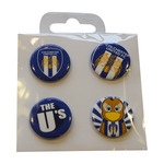 4 Button Badges