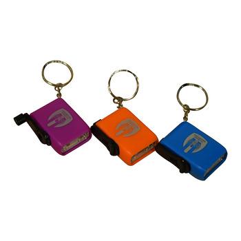 Mini Dynamo Torch Keyring