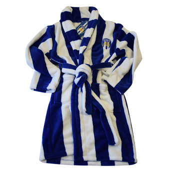 CUFC Striped Dressing Gown