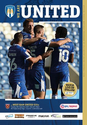 29/09 v West Ham U21 EFL Troph