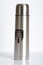 Crested Bullet Flask