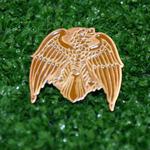Eagle pin badge