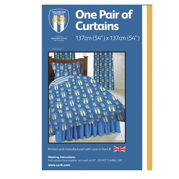 CUFC 54 Curtains
